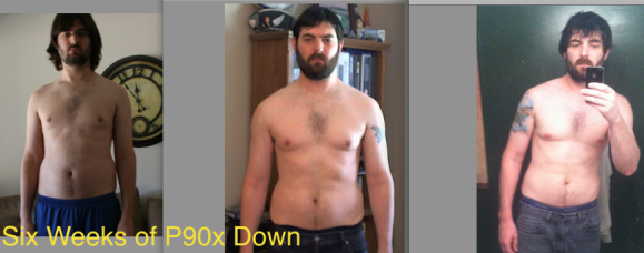 6 Weeks Down of P90x